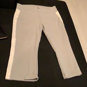 Nike cotton grey and white activewear pants
